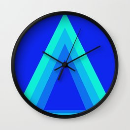 Homage to the Triangle Wall Clock
