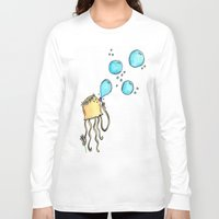 hippy Long Sleeve T-shirts featuring Hippy Jelly. by Devin