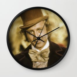 Gene Wilder Wall Clock