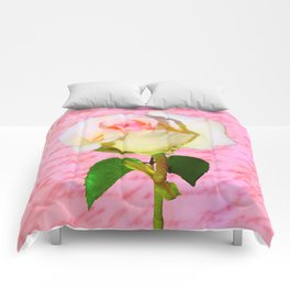 Rose Unfolding Comforters