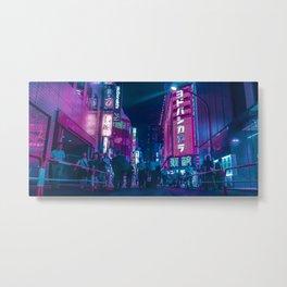 TOKYO BLOOM - Cyberlife Metal Print