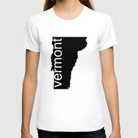 vermont T-shirts featuring Vermont by Isabel Moreno-Garcia