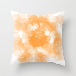 Super Orange Throw Pillow