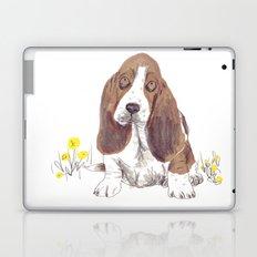 Basset Hound Laptop & iPad Skin