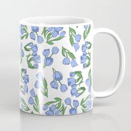 Dutch Blue Tulips Coffee Mug