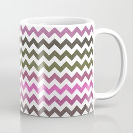 Pink Roses in Anzures 4 Chevron 1T Coffee Mug