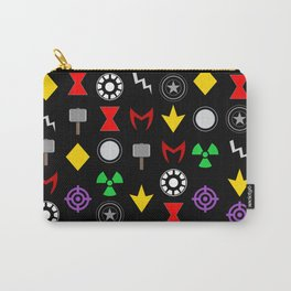 Minimalist Superhero Carry-All Pouch
