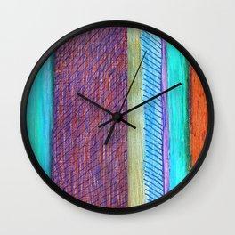 Stripes I Wall Clock