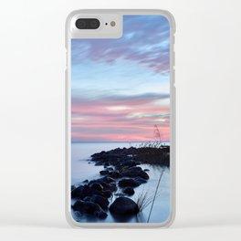 blue dawn Clear iPhone Case