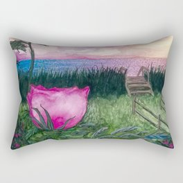 Keep the Evenings Long Rectangular Pillow