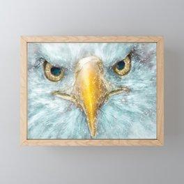 Portrait of an Eagle Framed Mini Art Print