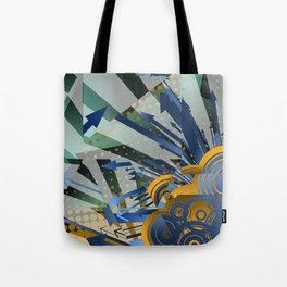 Vector Cubism Tote Bag