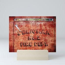 Seligman Fire Dept. Mini Art Print