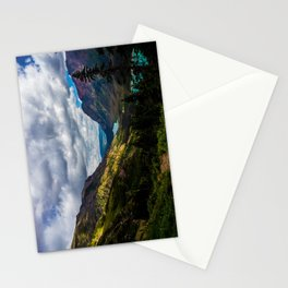 The valley and beyond Stationery Cards