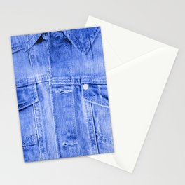 Denim Jacket Stationery Cards