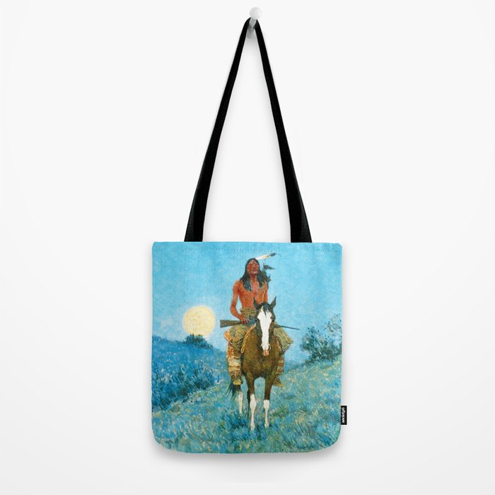The Outlier by Frederic Sackrider Remington Tote Bag