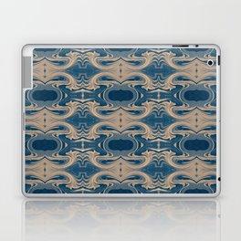 Shades of Blue Abstract Laptop & iPad Skin