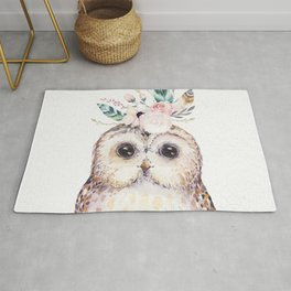 Forest Owl by Nature Magick Rug