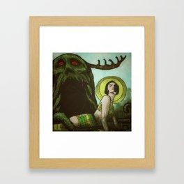 Iku-Turso Framed Art Print