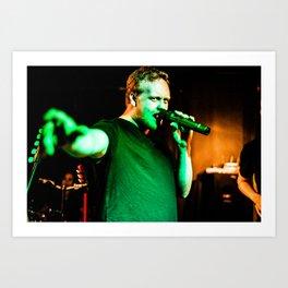 Brodie - Lead Vocals Art Print