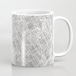 Ink Weaves: White Alabaster Coffee Mug