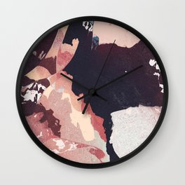 That blush is cracked Wall Clock