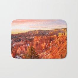 Warmth of Sunrise (Bryce Canyon, Utah) Bath Mat