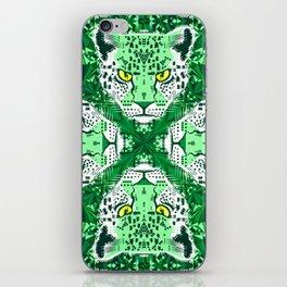 Emerald Leopard  iPhone Skin