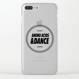 Amino Acid & Dance Clear iPhone Case