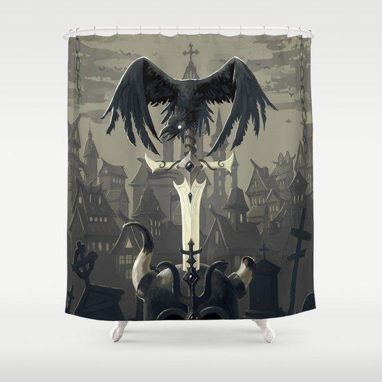 Dark Times Shower Curtain
