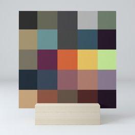 Pixel Patchwork Kappa Mini Art Print