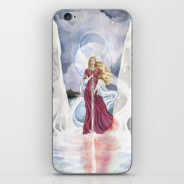 Lady of the lake iPhone Skin