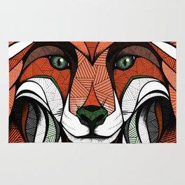 Fox // Colored Rug