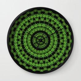 Regardlossly Plaid Mandala 6 Wall Clock