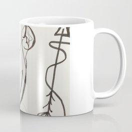 Fallow ur cats arrow Coffee Mug