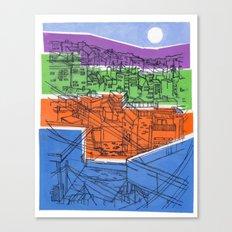 Seoul City #1 Canvas Print
