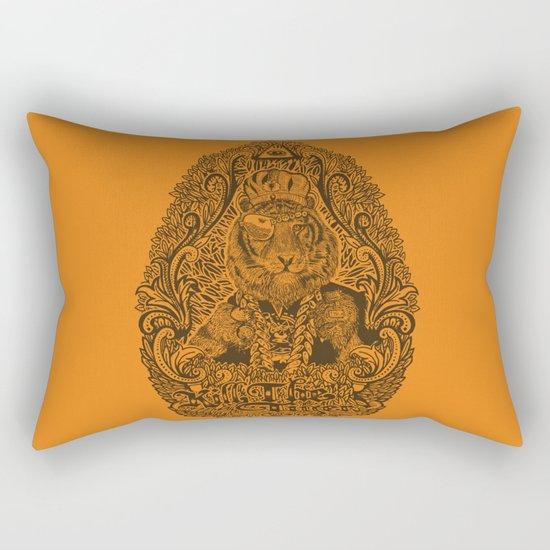 kill the tiger Rectangular Pillow