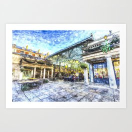 Covent Garden Market London Art Art Print