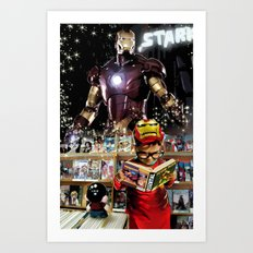 Iron Man: Dreaming Big Art Print