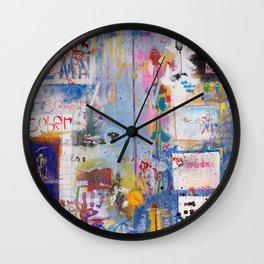 It's opener out there in the wide open air Wall Clock