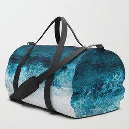 Watercolour Summer beach III Duffle Bag