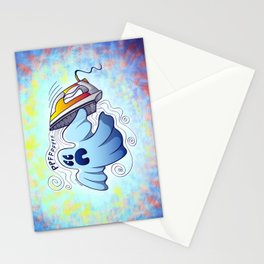 Ghost Ironing Nightmare Stationery Cards