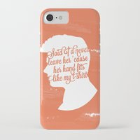 liam payne iPhone & iPod Cases featuring Liam Payne Silhouette   by Holly Ent