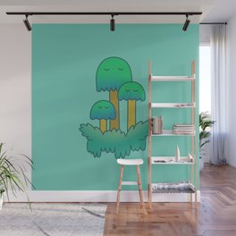 Sleepy forest Wall Mural