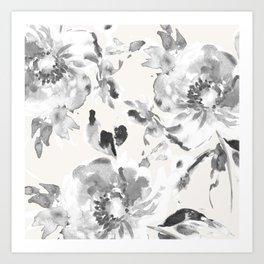 Floral Pillow Art Print