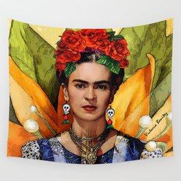 MI BELLA FRIDA KAHLO Wall Tapestry