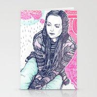 daria Stationery Cards featuring daria by Andon Georgiev