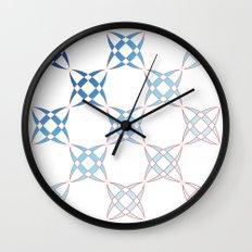 Checker C4 Wall Clock