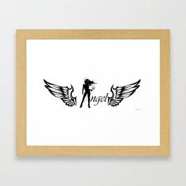 Angel Diabla Framed Art Print