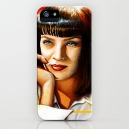 Mia Thurman iPhone Case